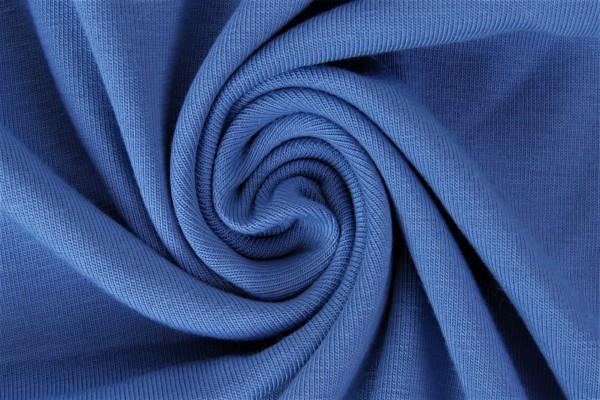 lillestoff Bio Stretchjersey dunkelblau