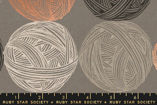 Ruby Star Society CANVAS Purl by Sarah Watts Linen Wool