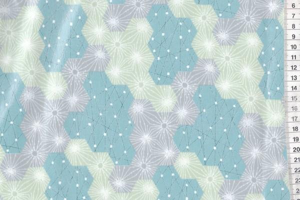Wachstuch Tayutou by Fabric Uta Dewdrop mint