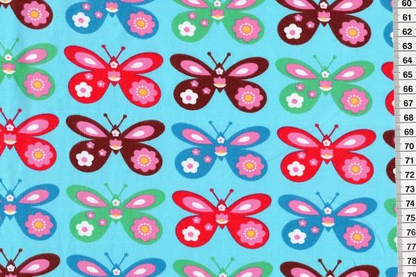 Lillestoff Jersey Schmetterlinge