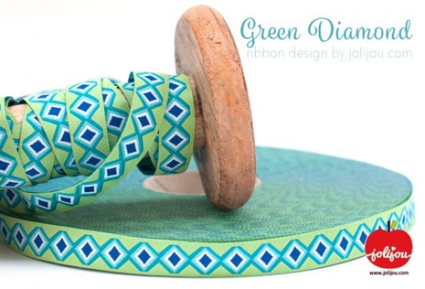 Green Diamond Webband