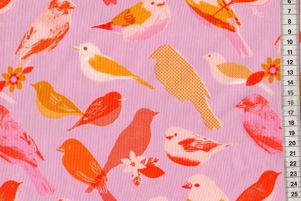 Ruby Star Society Social Birds Peony by Melody Miller