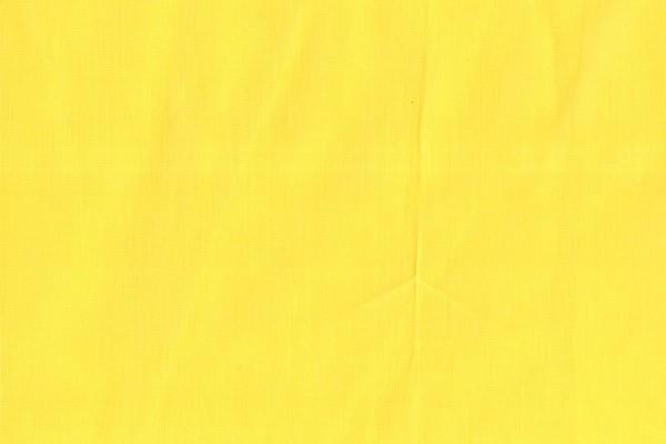 Baumwolle gewebt uni gelb
