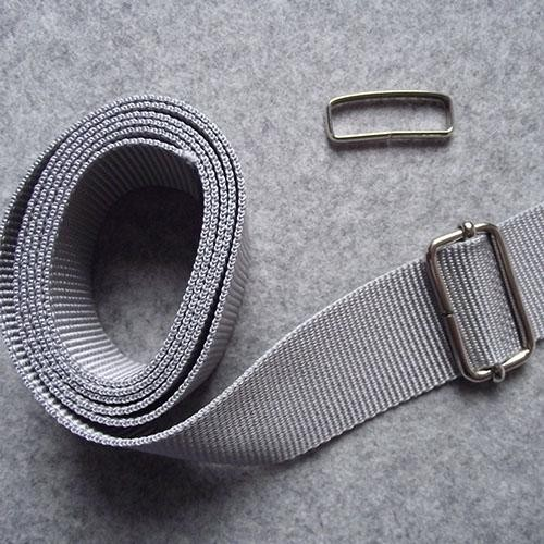 Gurtband Set grau