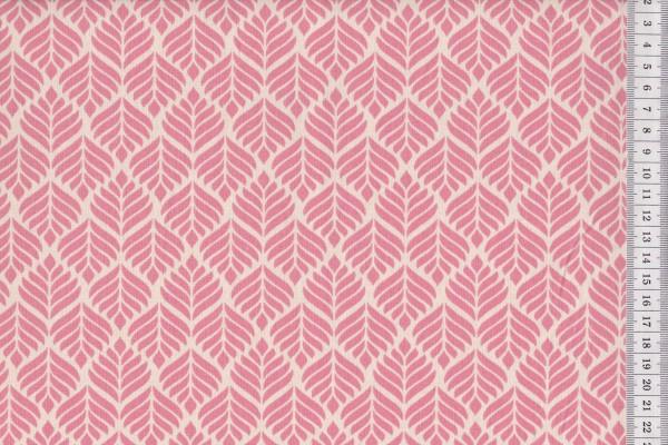 Dekostoff Trigo peachy pink