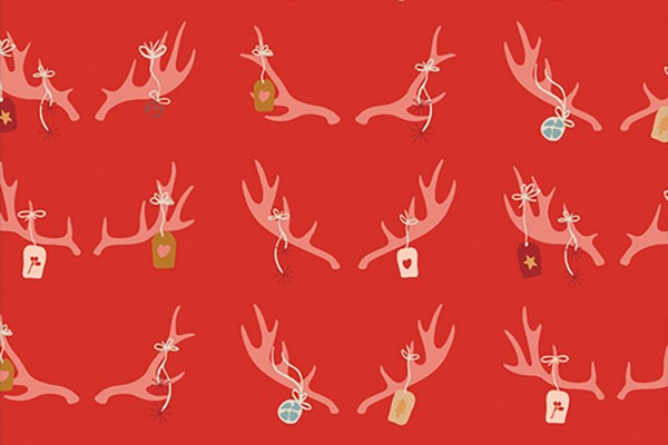 Maureen Cracknell Cozy and Magical Cheerful Antlers