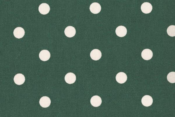 Dekostoff Dots Big green