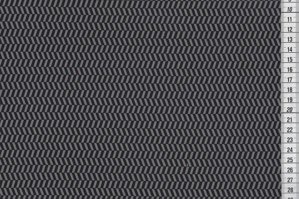 Uppercase Tweed schwarz/grau