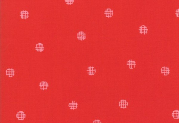 Just Red by Brigitte Heitland Cross my dots red
