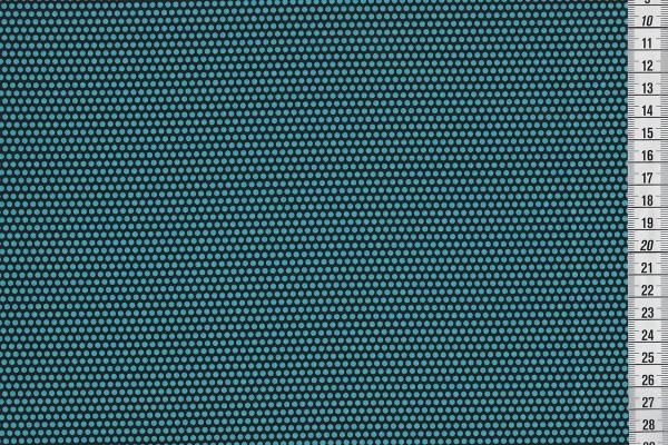 Uppercase Perforated schwarz/türkis