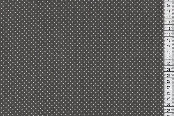 Wachstuch Dots charcoal