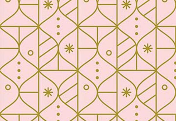 Polar Magic by Lemonni Metalllic Ornaments rosé