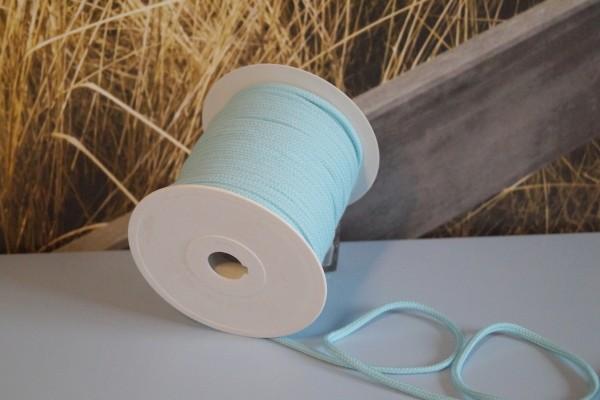 Baumwollkordel 6 mm hellblau