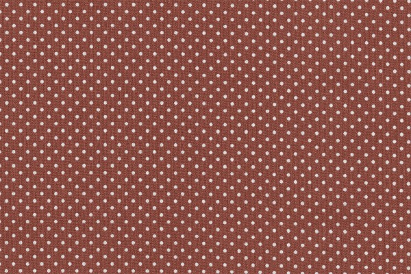 Wachstuch Oilcloth Dots Paprika/Burned Rose