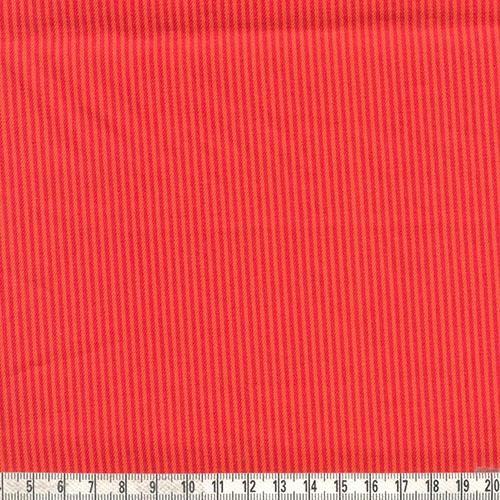 Jeans Streifen rot orange