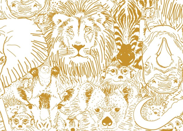 Cloud9 Grasslands by Sarah Watson Wild Things gold