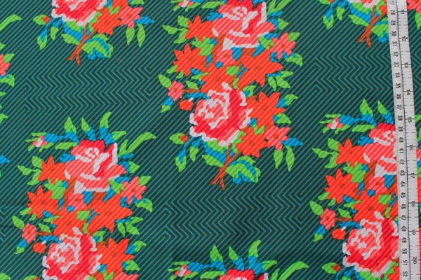 Anna Maria Horner Dowry twill bouquet evergreen