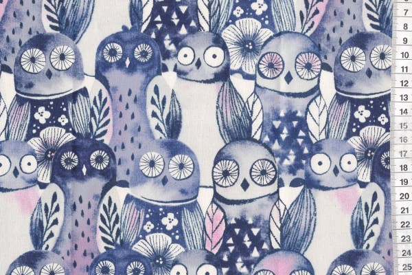 Eclipse Wise Owls by Sarah Watts