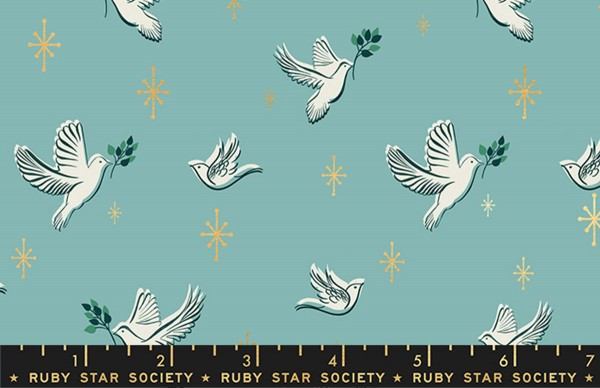 Ruby Star Society Candlelight Metallic Dove Water