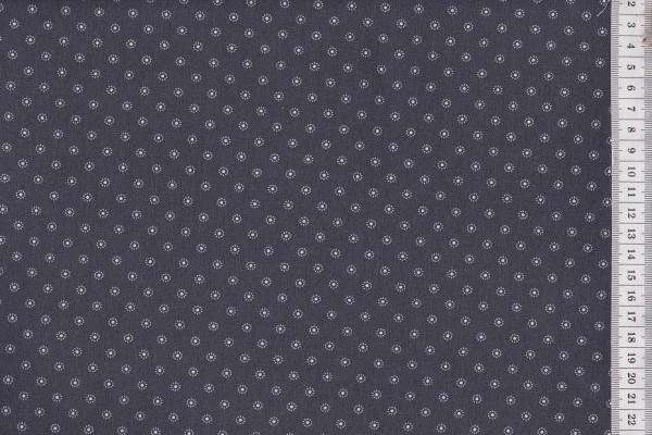 Westfalenstoffe Rosenborg Blümchen grau