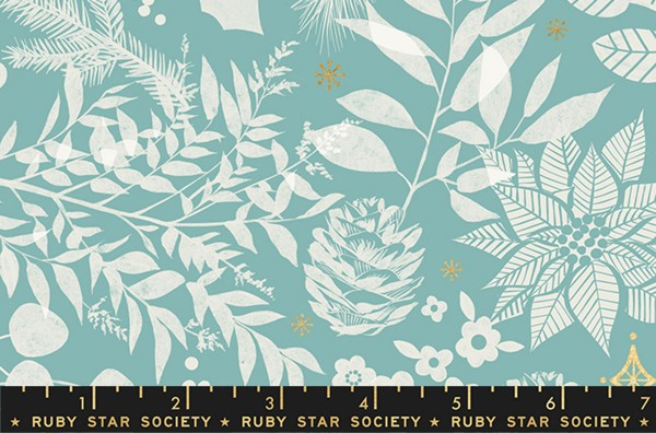 Ruby Star Society Candlelight Metallic Winter Water