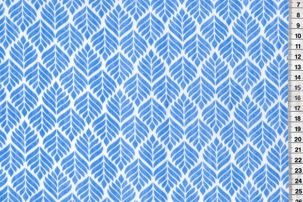 Wachstuch Trigo French Blue