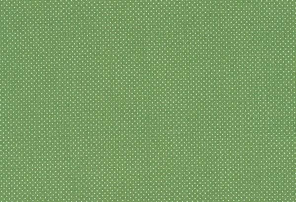 Westfalenstoff Wales Druck Pünktchen grün