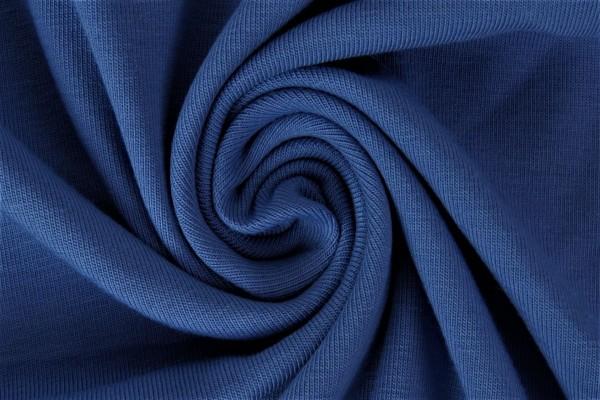 lillestoff Bio Stretchjersey jenasblau-dunkel