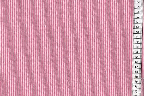 Jeans Streifen rosa/ecru