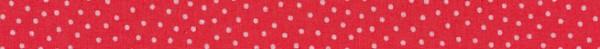 Schrägband Westfalenstoffe Junge Linie rot/rosa