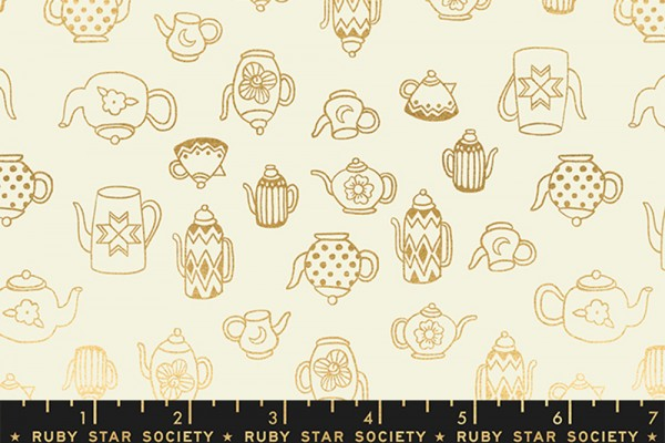 Ruby Star Society Purl by Sarah Watts Tea Time Shell