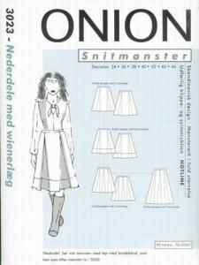 Onion Schnittmuster für Damen 3023