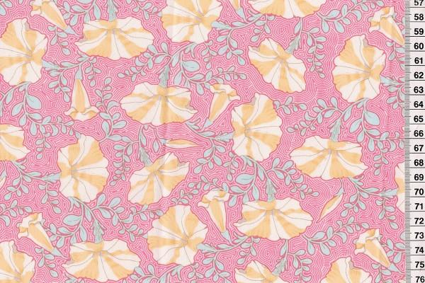 Tilda Gardenlife Striped Petunia Pink
