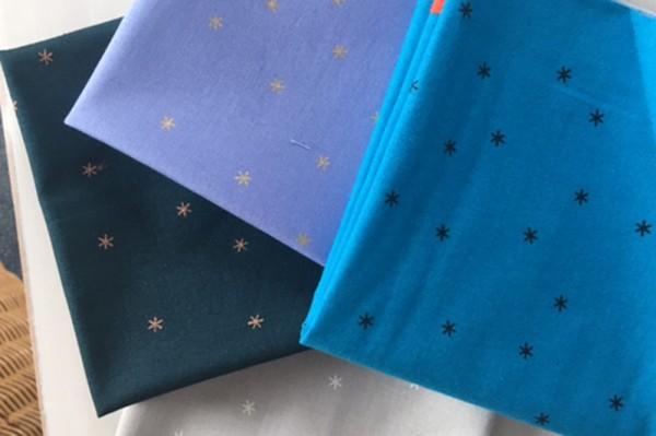 Rubystar Society Spark by Melody Miller Fat Quarter Set blue