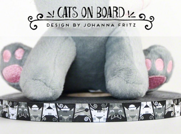 Cats on board Webband
