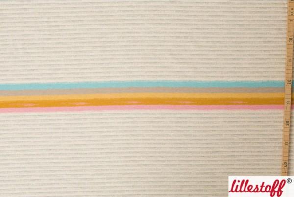 Lillestoff Miniregenbogenstreifen, meliert