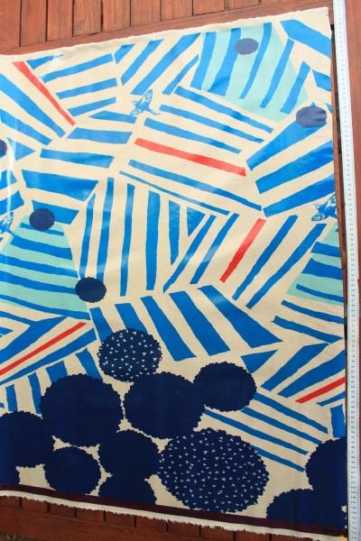 Wachstuch Echino Ray blue