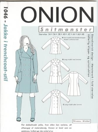Onion Schnittmuster für Damen 1046 | Damen und Herren | Onion ...