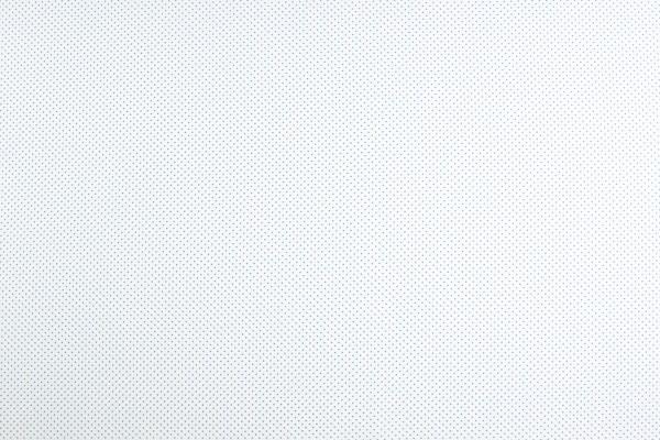 Baumwollwebware Tupfen weiß-hellblau
