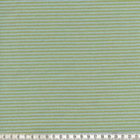 Ringelbündchen Andre kiwi/hellblau