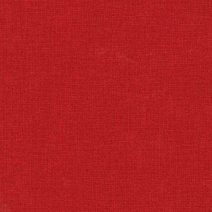 Quilters Linen crimson