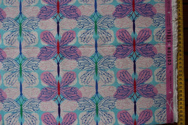 Canvas BUTTERFLY PINK by Melody Miller & Sarah Watts
