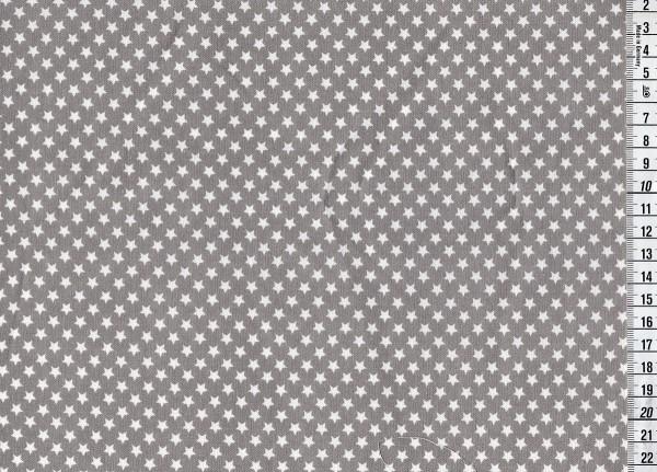 Wachstuch Stars grey