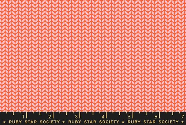 Ruby Star Society Purl by Sarah Watts Tea Knit Florida