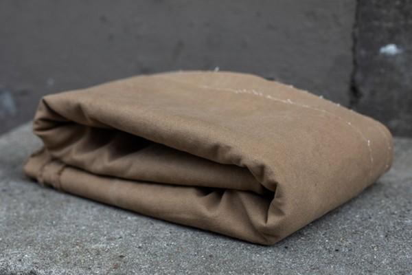 Heavy Canvas 17 OZ brown khaki