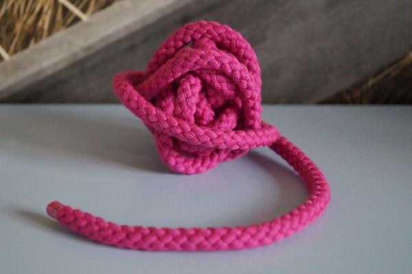 Baumwollkordel 8 mm pink