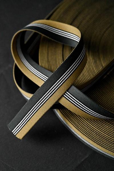 Gurtband Dashing Gold/Green 35 mm