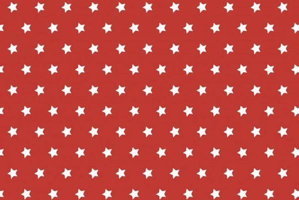Westfalenstoffe Hamburg Sterne rot/weiß