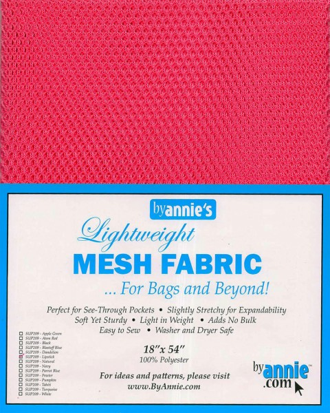 by annie's Mesh Fabric lightweight lipstick