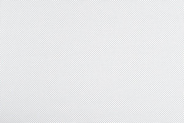 Baumwollwebware Tupfen weiß-grau
